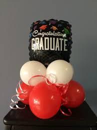 balloon arrangements for graduation graduation and class reunion balloons school decorations