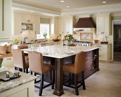 super fashionable kitchen island dining table