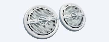 6 5 in 16 cm dual cone marine speaker xs mp1611 sony us