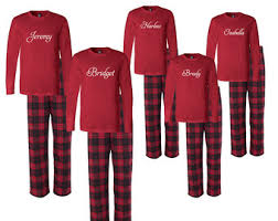 personalized family matching flannel christma pajamas custom