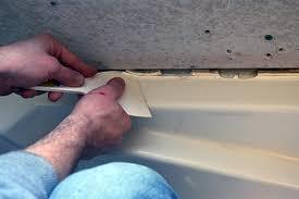 how to clean up caulk from tub lemon grove avenue