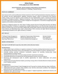 How To Write A Business Analyst Resume 7 Sample Resume For Business Analyst Azzurra Castle Grenada