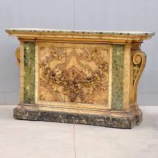 Italian Console Table Baroque Style Console Table De Grande Antique Furniture