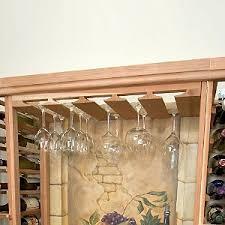 sonoma designer wine rack kit wine glass stemware rack wine
