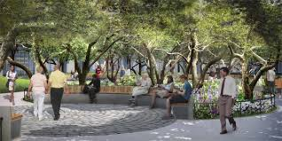 space seating n y u gives a preview of its superblocks open space plan by lincoln