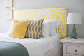 Design For Headboard Shapes Ideas Bedroom Fascinating Bedroom Design For Relaxing With Yellow