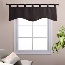 Valance Window Treatments by Aliexpress Com Buy Natural Scalloped Valances Window Treatments