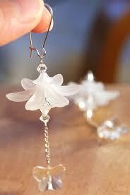 white earrings best 25 white earrings ideas on unique earrings