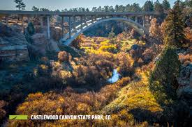 Castlewood State Park Trail Map by Castlewood Canyon State Park Outthere Colorado