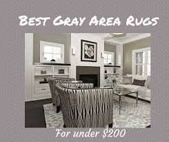 Black And Gray Area Rug Best Gray Area Rugs For Under 200 The Flooring