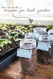 How To Build An Herb Garden Diy Mason Jar Herb Garden Averie Lane Diy Mason Jar Herb Garden