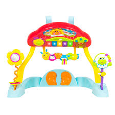 deluxe music activity gym and crib soother musical melodius