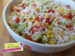 cuisine salade de riz salade de riz végétarienne la cuisinade