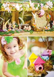 magical tinkerbell party backyard pixie hollow hostess