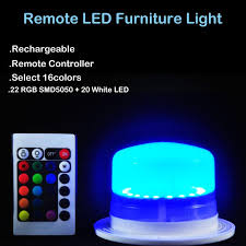 wholesale led under table lights 2018 wholesale new style rechargeable super bright rgbw led under