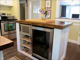 kitchen island with refrigerator built in wine refrigerator undercounter kitchen island with storage