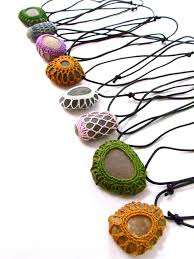 4 Ideas For Jewelry Making - best 25 rock necklace ideas on pinterest rock jewelry stone