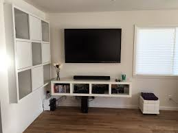 Unit Tv White Tv Console White Wooden Living Room Set Coffee Tableend