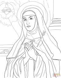 saints anna and joachim with little mary coloring page free