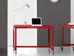 bureau roulettes bureau sur beraue roulettes blanc pour ordinateur agmc dz