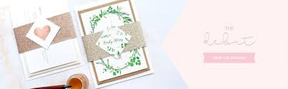 Wedding Invitations Packages Wedding Invitation Packages U2013 Blush And Gold