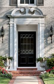 Exterior Door Pediment And Pilasters You Had Me At The Front Door The Enchanted Home