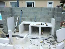 cuisine exterieure en cuisine exterieure beton meuble cuisine exterieure meuble cuisine