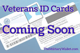 new federal veterans id card available for issue starting 2017