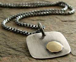 handmade silver charm necklace images 50 meaningful necklaces for guys mens meaningful necklaces jpg