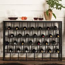 console table with wine storage marble top wine storage console table wine enthusiast