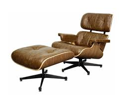 Leather Chair With Ottoman Lounge Chair With Ottoman Java Pg Faron Wood Accent Seating