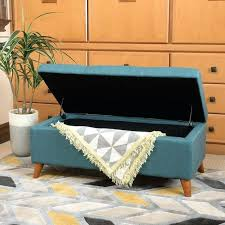 Colored Ottoman Patterned Ottoman Teal Ottoman With Storage Patterned