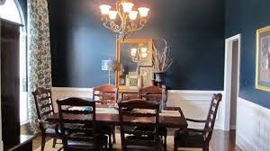 blue dining room home planning ideas 2017