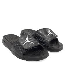 nike black jordan hydro 5 retro slides for men level shoes