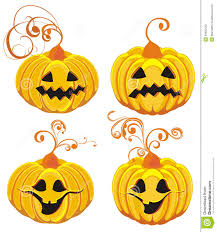 halloween pumpkins vector illustration stock photo image 20955420