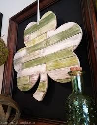 Shamrock Decorations Home Diy Wood Shim Shamrock A Wonderful Thought