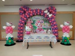 Balloon Decoration Johor Bahru Indian Birthday Parties And Cradle Ceremony Decorations By