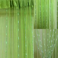 200 100 cm rideau fils 罌 fil perle voilage porte fen罨tre frange