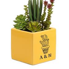 personalized flower pot personalized flower pots and vases