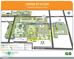 Amtrak Stations Map by About Union Station