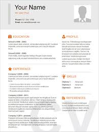 Free Basic Resume Template Exles Of Resumes Basic Resume Template 51 Free Sles Format