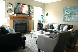 Furniture Arrangement In Living Room Furniture Arrangement Corner Fireplace Image Of Arranging Living