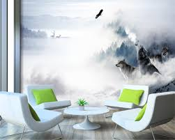 beibehang custom wallpaper modern simple tv background wall wolf beibehang custom wallpaper modern simple tv background wall wolf totem snow mountain elk home decoration mural 3d wallpaper in wallpapers from home