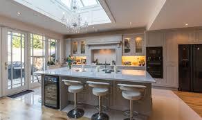 Modern Timber Kitchen Kitchen Inspiration Caesarstone Benchtop Grey Cabinets Timber