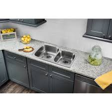 Drop In Stainless Steel Sink Dickinson Farmhouse Undermount Apronfront Cast Iron 33 In 4hole