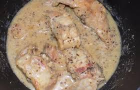 cuisiner le lapin à la moutarde lapin à la moutarde recette dukan pp par fanie37 recettes et