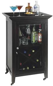 howardmiller butler bar wine black consoles 14 bottle wine rack