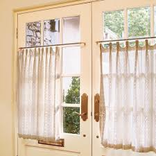 bedroom window treatments southern living simply dressed cafe curtains cafe curtains southern living and