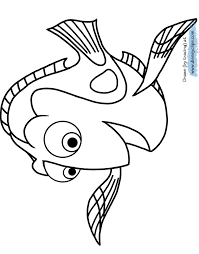 finding dory coloring pages disney coloring book