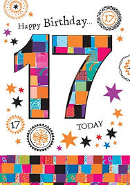 send personalised 17th birthday cards funky pigeon